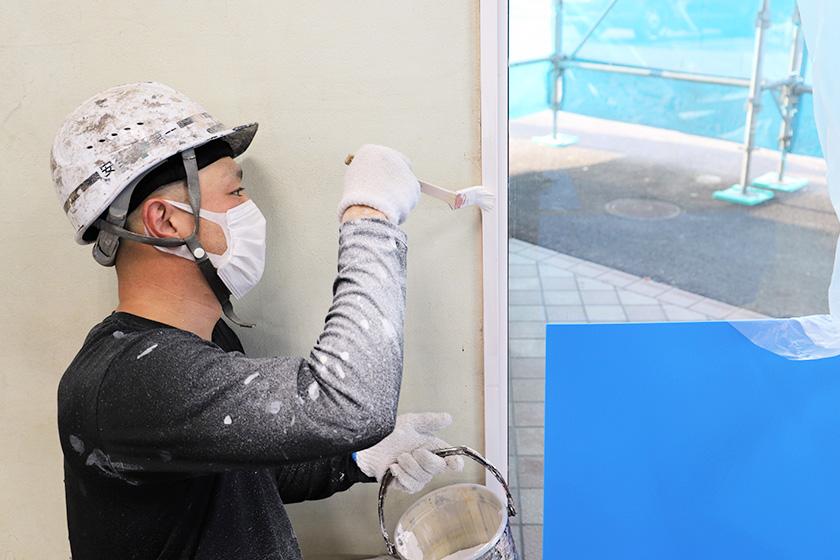 部分塗装・ベランダ防水